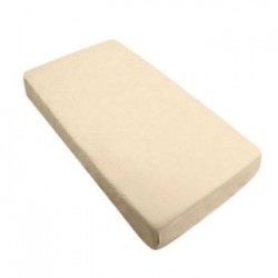 BebeBamboo Fitted Crib Sheet - Ecru