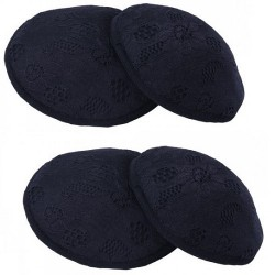 Autumnz Washable Breast Pads (6pcs/pack) - Black *TWIN PACK*
