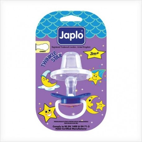 Japlo Baby Soother - Twinkle Star (Cherry)