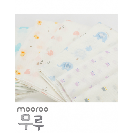 Mooroo Embossing Gauze Cotton Swaddle / Towel