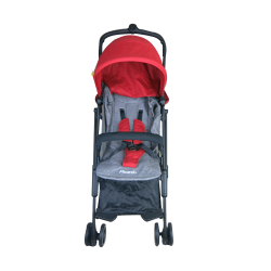 Picardo Mini XSR Cabin Stroller Recline (Red)