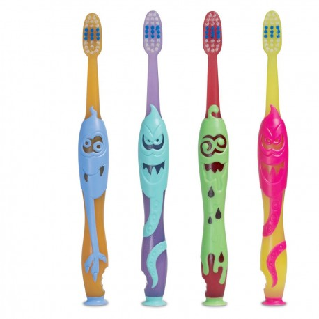 Elgydium Kids Monster Toothbrush 2-6 y/o