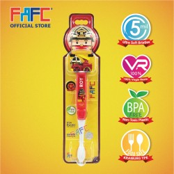 FAFC Robocar Poli - Roy Figurine Kids Toothbrush