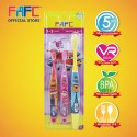 FAFC SW Super Wing Sleeve Kids Toothbrush (1-3 years)
