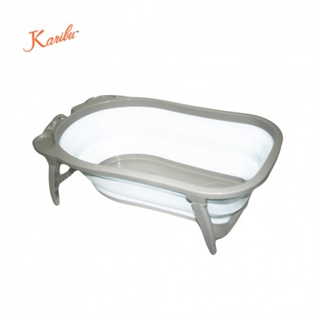 Karibu Folding Bath (Gray)