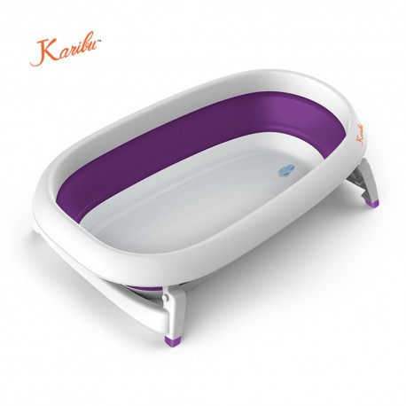 Karibu Mega Folding Bath (Purple)