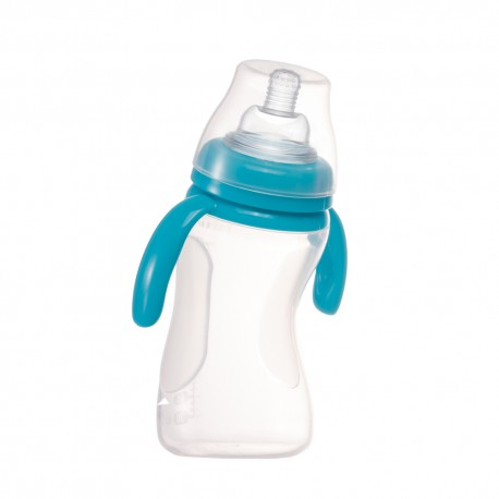 Farlin Transbottle I Silicone Bottle (Blue)