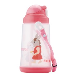 Farlin Water Bottle (Pink-650ml)