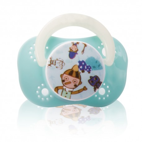 Farlin Chu Chu Cherry Pacifier (Blue-0m+)
