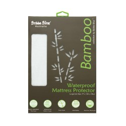 Bubba Blue Bamboo Large Cot Mattress Protector