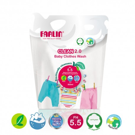 Farlin Clothing Detergent (Refill Pack/800ml-1)