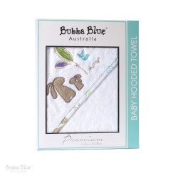 Bubba Blue Utopia Velour Hooded Towel