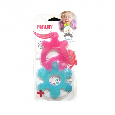 Farlin Doctor J. Teether-Educational Smiley (Star&Fish Comb)