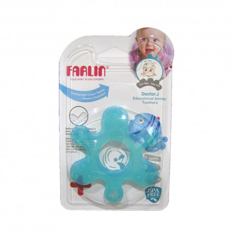 Farlin Doctor J. Teether-Educational Smiley (Star)