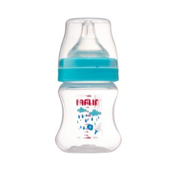 Farlin Feeding Bottle-Silky PP (140ml-Blue)