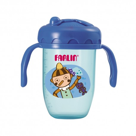 Farlin Gulu Gulu II Training Cup (240ml-Blue)