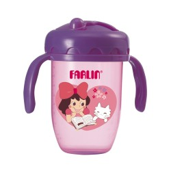 Farlin Gulu Gulu II Training Cup (240ml-Purple)