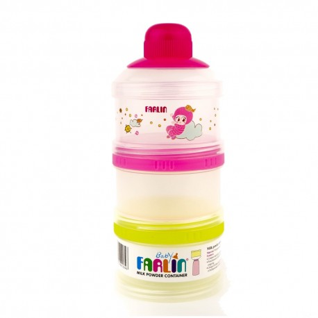 Farlin Milk Powder Container (Pink)