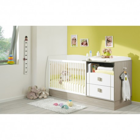 Galipette JULES Compact Convertible Cot Bed