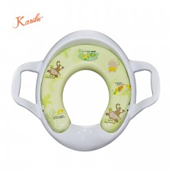 Karibu Cushion Potty Seat with Handle - Playful Monkey