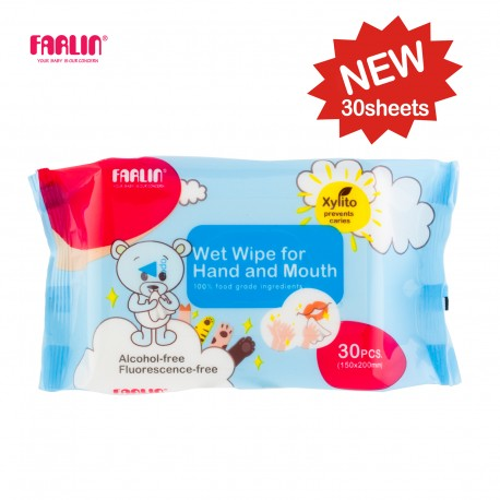 Farlin Wet-Wipes-Hand & Mouth