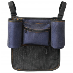 Bonbijou Smart Stroller Organiser (Denim Blue)