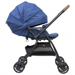 Bonbijou Luxos + Light Weight Stroller (Blue)