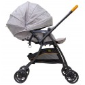Bonbijou Luxos + Light Weight Stroller (Grey)