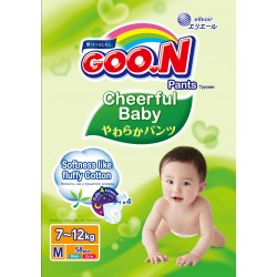 GOO.N Cheerful Baby Pants M58 4-Pack