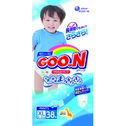 GOO.N JV Pants XL38 Boys 4-Pack + FREE Water Pocket Lotion Tissue