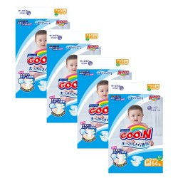 GOO . N JV Diapers M64 4-Pack