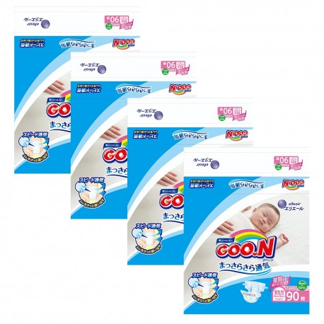 GOO. N JV Diapers NB90 4-Pack