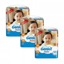 Nepia Genki Mega Pack Pants (Carton of 3 packs)
