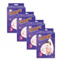 Oji Whoopee Mega Pack Tape Diapers  (Carton of 4 packs)
