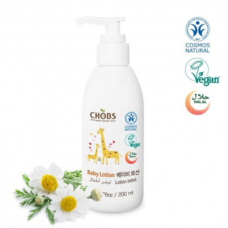 Chobs Baby Lotion 200ml