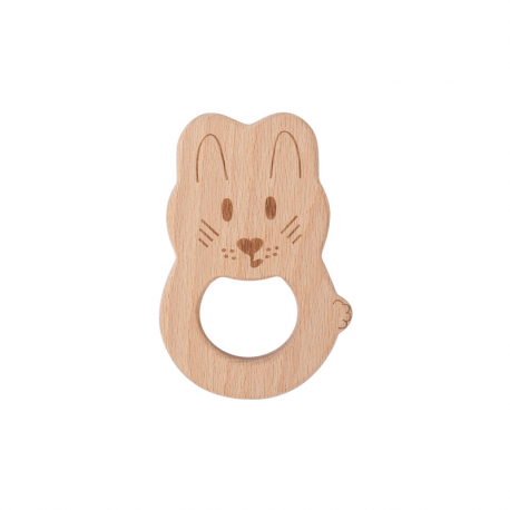 Kitty Beech Wood Teething Toy
