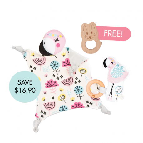 Coco Cuddle Blankie Set (Buy 2 Free 1)