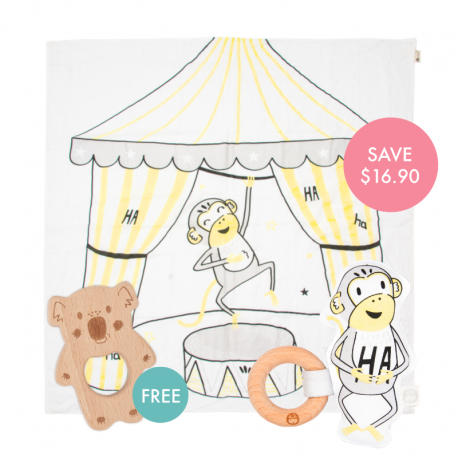 Splits Story-print Wrap Set (Buy 2 Free 1)