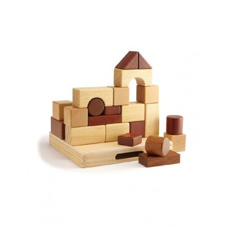 Magic Forest Red Wood Set Series - Block Set (23 pieces)