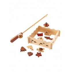 Magic Forest Red Wood Set Series - Fishing Set (15 pieces)