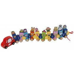 Pororo Wooden Toys Number Train