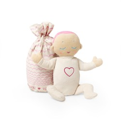 Lulla Doll Coral - An Icelandic Designed Baby Sleep Companion