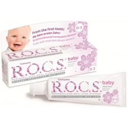 ROCS Baby 0-3 years old Toothpaste (with lime-blossom)