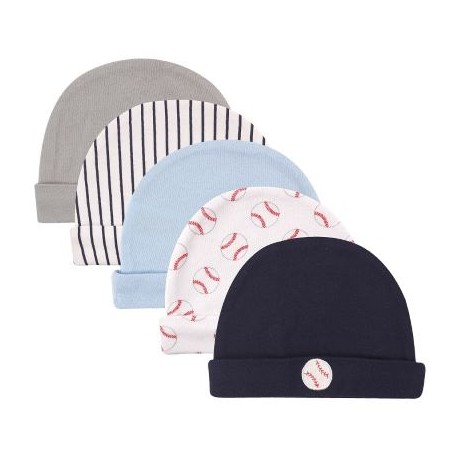 Luvable Friends 5 pieces Cotton Caps Beanie