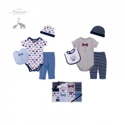 Little Treasure 8 Pieces Clothing Gift Set - Handsome 77011