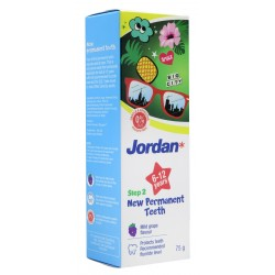 Jordan Toothpaste Step 2 (6-12 Yrs) 75g