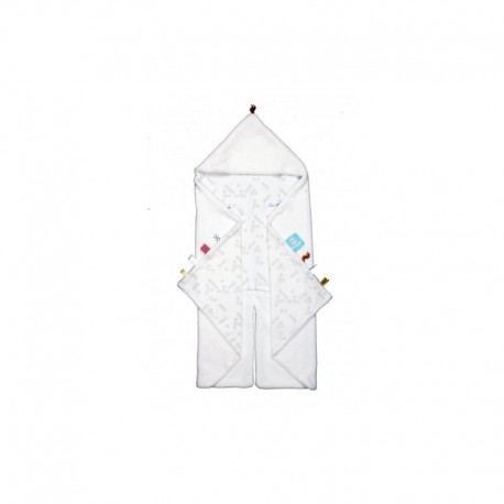 Snoozebaby Trendy Wrapping Wrap Blanket - Polarbear White