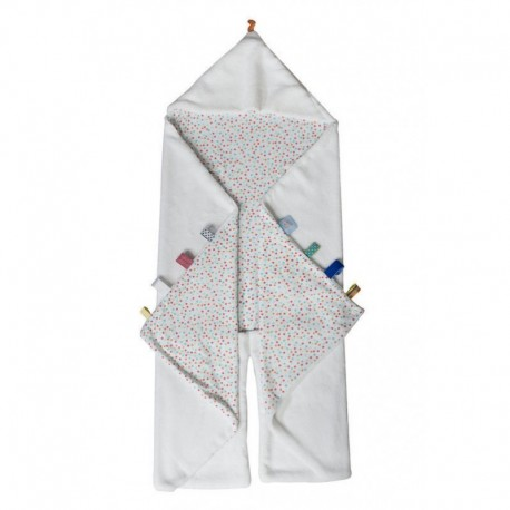 Snoozebaby Trendy Wrapping Wrap Blanket - Confetti White
