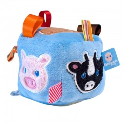 Snoozebaby Soft Toy - Animal Cube