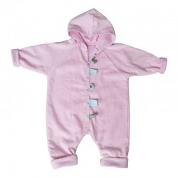 Snoozebaby Bathsuit - Powder Pink